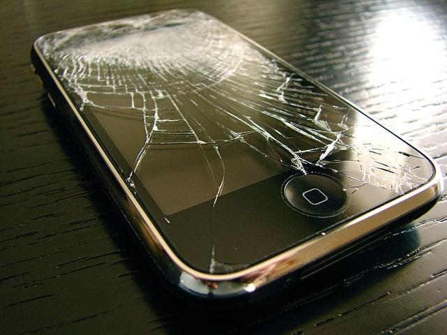 Crashed iPhone