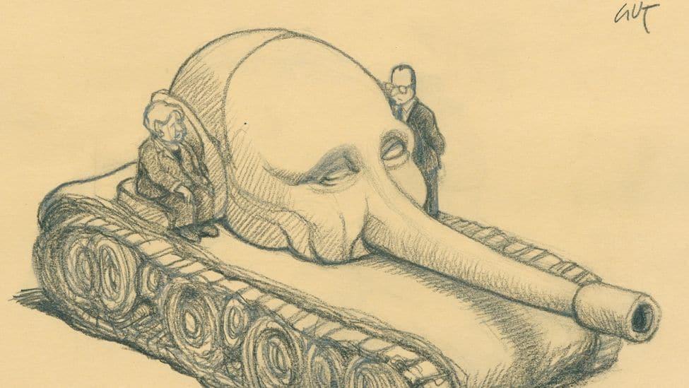 Merkel, Hollande und Putin