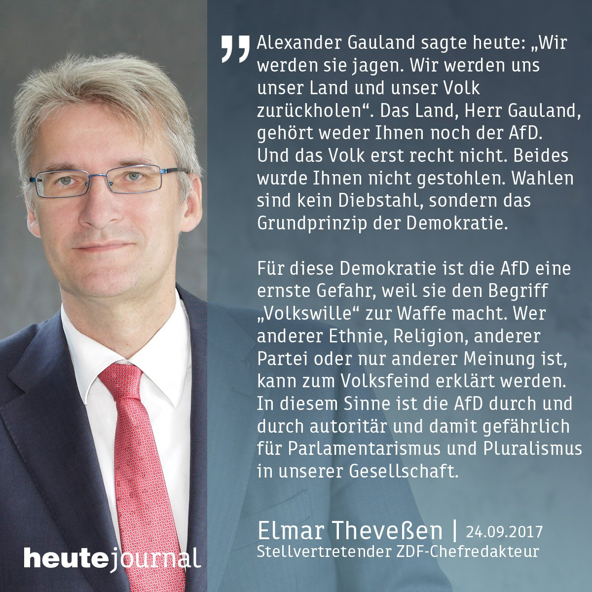 Elmar Theveßen, ZDF