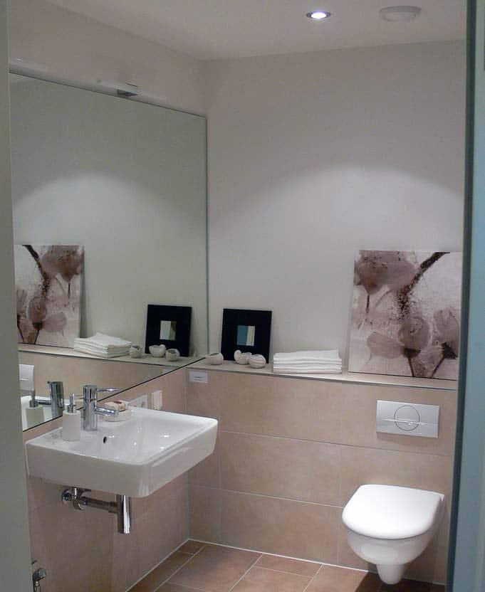 Kosten des neuen Badezimmer in der eigenen Wohnung