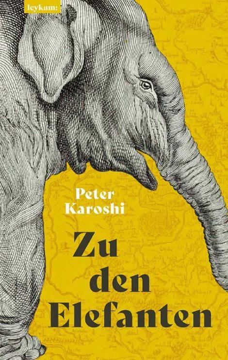 Buchcover: Zu den Elefanten